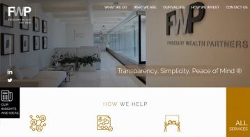 Financial Company Website