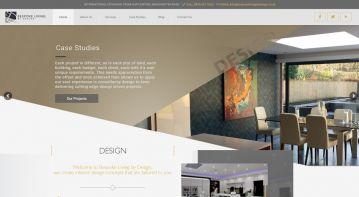International digital marketing & website for interior design architects
