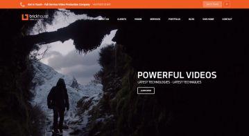 Video production company's website optimization