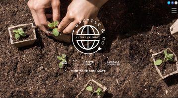 Website for Natural Fertilizer Startup